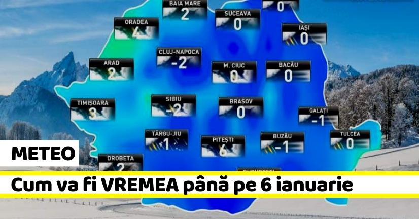 Prognoza meteo ianuarie 2019