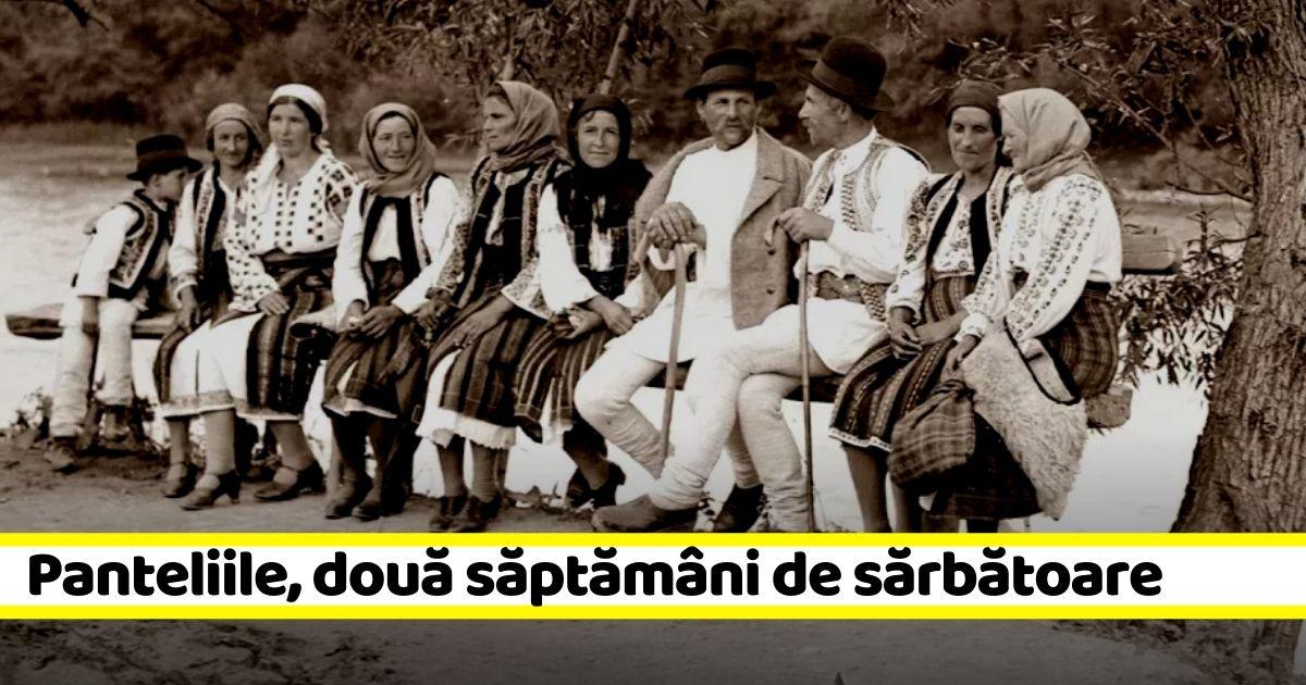 """13 iulie: Panteliile. Două săptămâni de sărbătoare la români. Tradiții în luna lui """"Cuptor"""""""